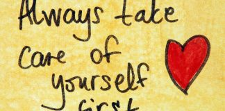 Take Care Of Yourself First